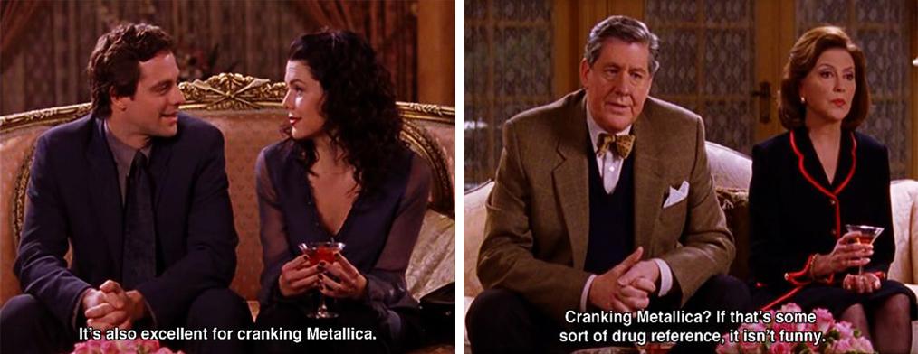 Cranking-Metallica-It-Should-ve-Been-Lorelai-Gilmore-Girls-1