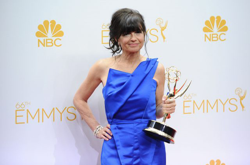Gail-Mancuso-and-her-Emmy-Modern-Family-1