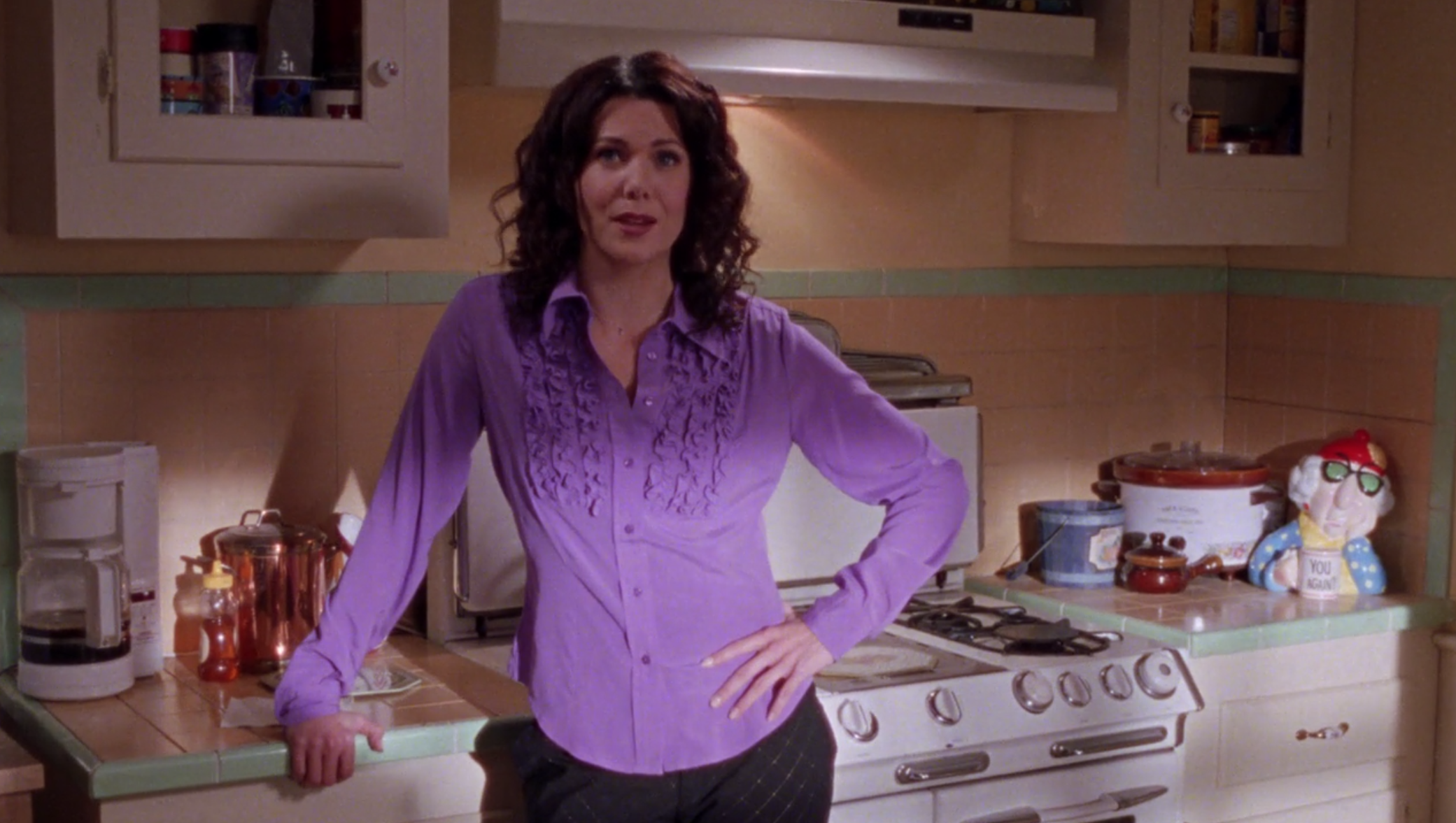 Lorelais-Gross-Purple-Ruffle-Shirt-Richard-in-Stars-Hollow-Gilmore-Girls-1