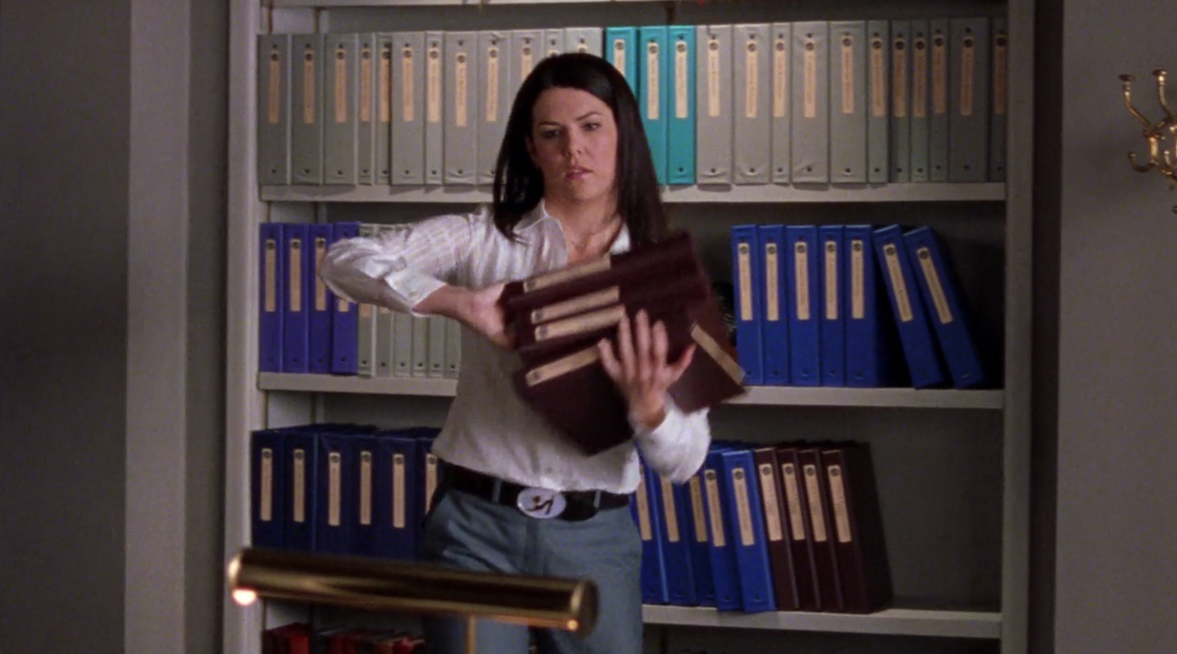 Lorelai-Gilmore-Conservative-Work-Outfit-Help-Wanted-Gilmore-Girls