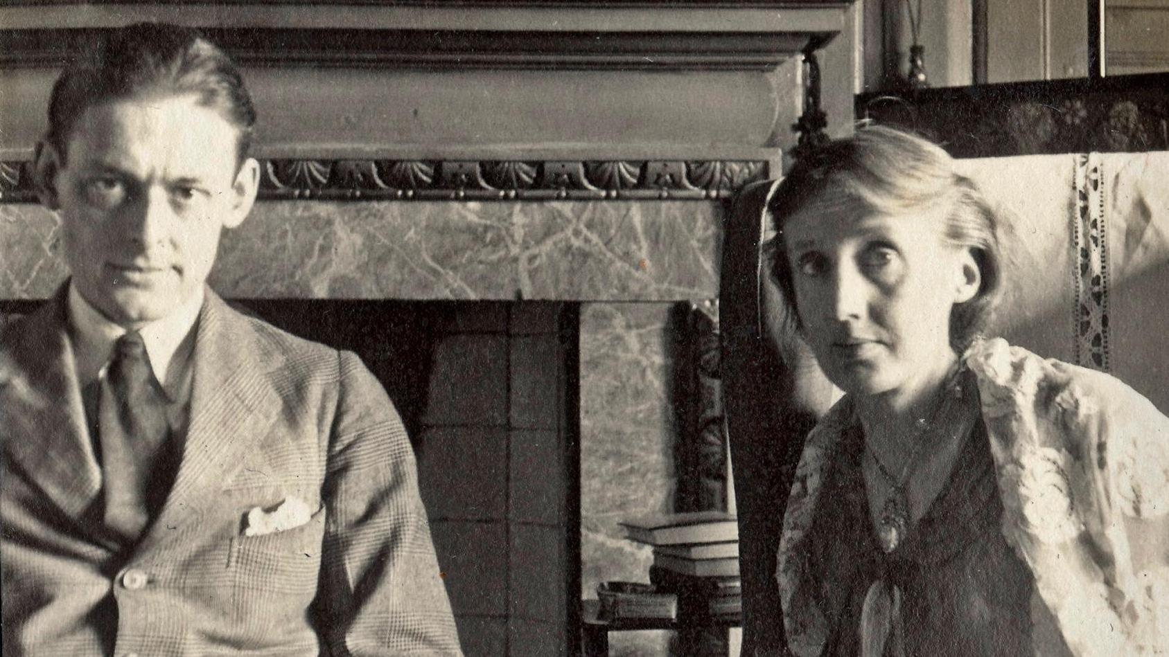 Virginia-Woolf-and-TS-Eliot