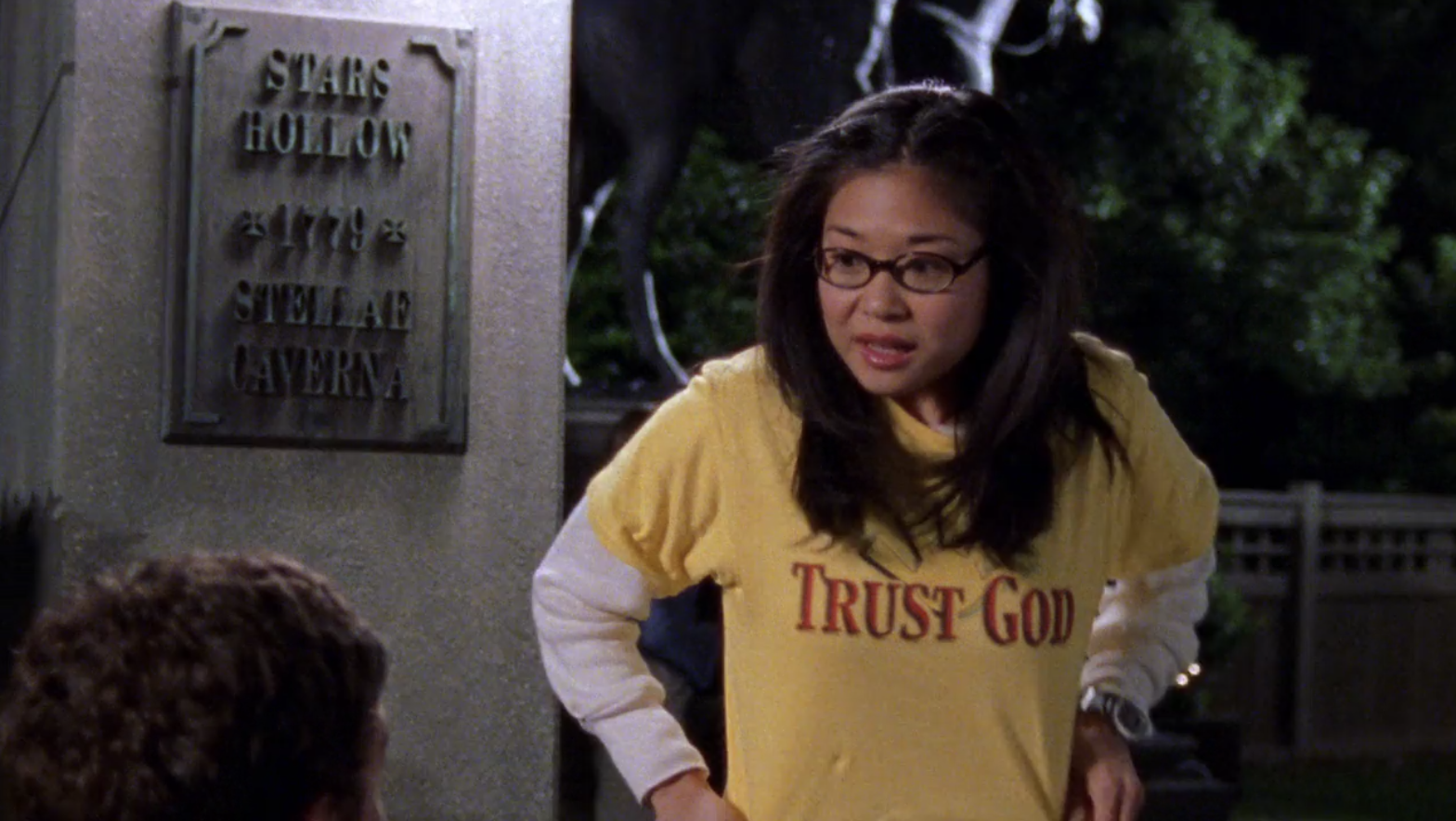 Lanes-Trust-God-Shirt-Application-Anxiety-Gilmore-Girls-1