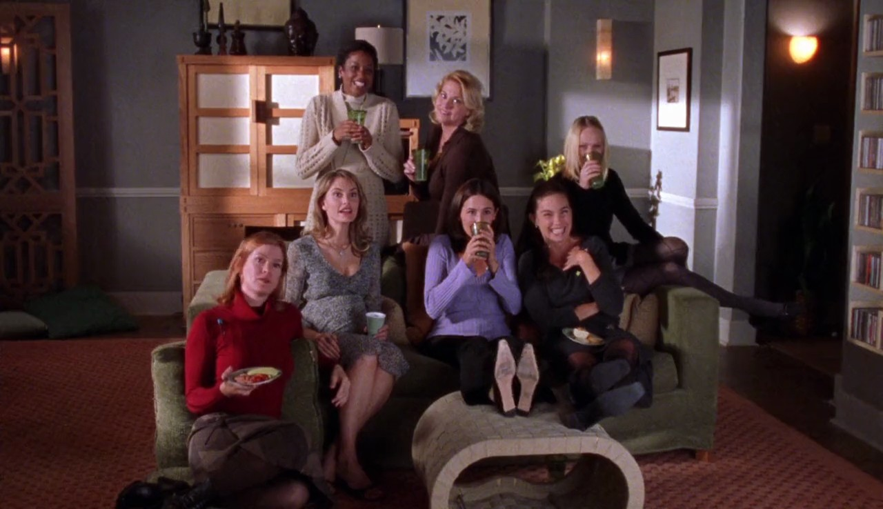 Baby-Shower-Ladies-Take-the-Deviled-Eggs-Gilmore-Girls