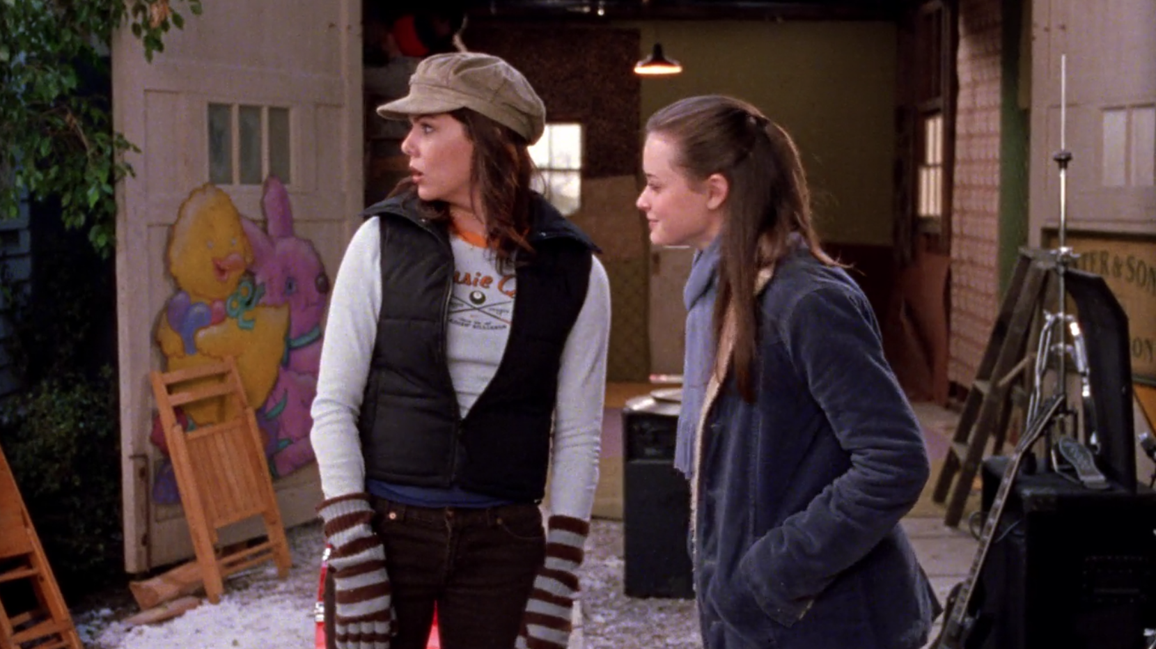 Lorelai-Hideous-Outfit-Lorelai-Out-of-Water-Gilmore-Girls