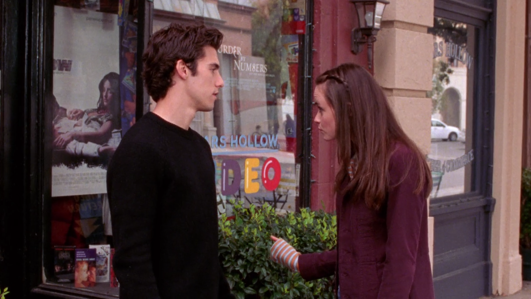 Words... gilmore girls lesbian kiss know, you